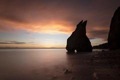 At the Sharp End (johnkaysleftleg) Tags: ryhope ryhopebeach seastack ryhoperabbit sunrise dawn morning longexposure 10stopfilter nd3 canon760d sigma1020mmf456exdchsm