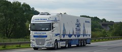 D - Trio Trans DAF XF 106.510 SSC (BonsaiTruck) Tags: triotrans airbrush daf xf 106 ssc lkw lastzug lastwagen truck trucks lorry lorries camion