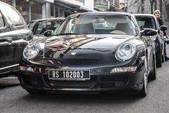 Tunisia Foreigners - Porsche 997 Carrera S Cabriolet MkI (PrincepsLS) Tags: tunisia tunisian license plate rs regime secondaire suspensif germany köln cologne spotting porsche 997 carrea s mki cabriolet