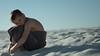Beach Sand Blues (NEXtographer) Tags: bokeh hug sand a7rii pensacola sony mirrorless blues emount beach outside towel sadness cold smooth outdoors sad white