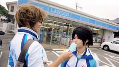 DSC04558 copy.jpg (elyuu) Tags: freeiwatobiswimclub nagisa hazuki haruka nanase makoto tachibana iwami japan cosplay