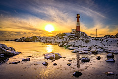 Winter dream (Richard Larssen) Tags: larssen landscape light richard richardlarssen rogaland rocks reflections norway norge norwegen nature sony scandinavia sea seascape sky sunset sel1635z sun snow sonyalpha evening eigersund eigeroy eigery eigeryfyr eigeroyfyr eigerylighthouse eigerya eigeroylighthouse zeiss fyr fyrtrn dalane magma geopark visit visitnorway a7ii anorthosite