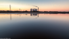 Merseyside Autumn (10 of 16) (andyyoung37) Tags: fiddlersferrypowerstation runcorn refelections rivermersey sunset