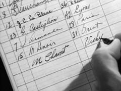 named (annacarvergay) Tags: cursive handwriting calligraphy namethatfilm pen