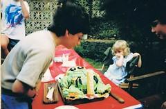 blowing candle Ninja turtle cake (deadbudgie) Tags: teenage mutant ninja turtle cake 1980s birthday nsw
