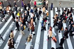 pedestrians_thumb (BoKauffmann) Tags: 横断歩道 歩行者 通勤 歩く 交通 人物 梅田 大阪 関西 日本 japan