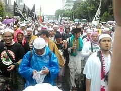 LASKAR JAUSYAN & BRIGADE ABABIL (pphmarjuna) Tags: laskar jausyan brigade ababil aksi bela islam super damai jilid 3 2016 212 demo alquran monas patung kuda bi