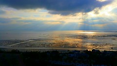 St Clements Church (Monsieur Tout Le Monde) Tags: leighonsea leigh sea rooftop tower stclementschurch st cleaments church essex christmas heaven thames river sunray sunbeam light sun clouds winter sky estuary 2016 domi dominickillworth