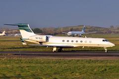 SX-GJJ  Gulfstream 550 (n707pm) Tags: sxgjj gulfy gulfstream g550 gvsp bizjet corporate executive einn snn ireland coclare gainjet 29112016 cn5350 shannonairport