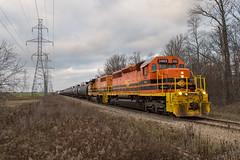 Nanticoke Bound (Joseph Bishop) Tags: rlhh 3403 emd sd402 sor southernontariorailway nanticoke cnhagersvillesubdivision trains train track tracks railfan railroad railway rail rails