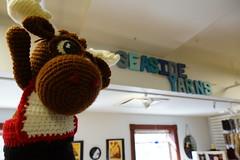 DSC01675 (The Crochet Crowd) Tags: crochetmoose amigurumi moose crochet doll alaska britishcolumbia thecrochetcrowd michaelsellick jeannesteinhilber danielzondervan crochetcruise mooseontheloose