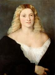 Young Woman in Black Dress (lluisribesmateu1969) Tags: 16thcentury portrait titian onview kunsthistorischesmuseumwien vienna