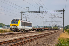 Steel (VTZK) Tags: blx hle13 lux6 trein train zug freight goederen alstom 13 summer sunny steel logistics business transport railroad spoorweg chemindefer rail spoorlijn