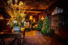 Christmas at the Great Fosters Hotel (CAscotPhotography) Tags: greatfosters greatfostershotel surrey christmas indoor hotel flash strobe nikon d7100