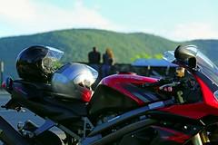 Aprilia SL1000 1508128426w (gparet) Tags: bearmountain bridge road scenic overlook motorcycle motorcycles goattrail goatpath windingroad curves twisties couple couples sunset outdoor sport vehicle bike wheel motorcyclist