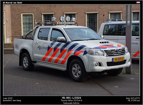 Dutch Police - Toyota Hilux (VB-891-L)
