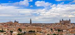 Toledo - Spain (Andre Yabiku) Tags: panorama skyline landscape spain toledo es castillalamancha yabiku andreyabiku