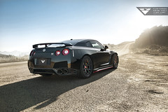 Nissan GTR - Vorsteiner Flow Forged V-FF 103 Wheels (Vorsteiner) Tags: black cars flow nissan wheels 103 mystic forged gtr r35 vff vorsteiner