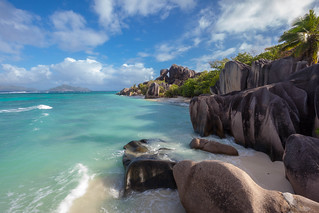 Jurassic Coastline Of The Seychelles
