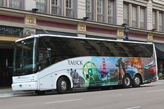 Tauck (So Cal Metro) Tags: bus coach downtown tour sandiego via charter vanhool tourbus charterbus tauck