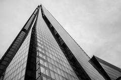 The Shard (Will OHare) Tags: street city uk england blackandwhite building london architecture fuji streetphotography fujifilm 2015 theshard fujix100