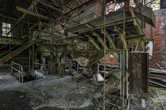 The Main Squeeze (billmclaugh) Tags: urban plant black abandoned industry photoshop canon rust industrial factory pennsylvania lick machinery adobe urbanexploration processing mineral coal hdr highdynamicrange tse lightroom urbex tiltshift on1 markiii 17mm f4l photomatix promotecontrol perfecteffects kovalchickcorp