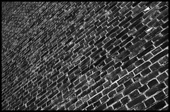 Overdose (Arnaud Huc) Tags: blackandwhite bw white black france brick wall architecture lens nikon europe noir noiretblanc nb mur nordpasdecalais blanc briques pasdecalais d5100 arnaudhuc