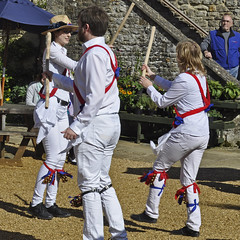 Morris with Sticks (Chris Mullineux) Tags: nikon dancers mullineux 2morris dancingmorrissticksticksdancesulgrave manorsulgrave
