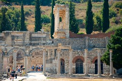 Library From Marketplace (hecticskeptic) Tags: turkey ephesus libraryofcelsus templeofhadrian bouleuterion nymphaeumtraiani markamorgan