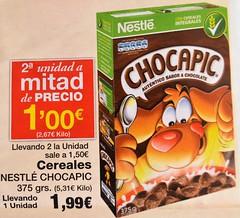 Oferta cereales 2 unidad a mitad de precio (jesamate) Tags: cereales oferta segundaunidadmitaddeprecio