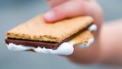 S'more (Wine Dharma) Tags: recipe focus chocolate more dolce marshmallow snack biscuits rum recipes smore biscotti dolci ricetta dito cioccolata ricette finge ricettaamericana ricettasmore