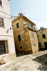 Gronjan (Peter Gutierrez) Tags: street old city streets castle film rock stone town photo ancient rocks europe european republic fort stones croatia medieval peter gutierrez eastern fortress croatian istria hrvatska istra croat croatians gronjan grisignana castrum istrien histria peter illyrian croate istriot illyrians gutierrez grisiniana