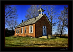 Marlette School (the Gallopping Geezer 3.8 million + views....) Tags: school abandoned mi rural canon decay michigan country faded worn weathered backroads decayed smalltown geezer corel 2015 marlette oneroom 1room 5d3 sigma24105