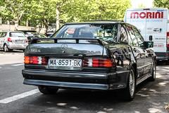 Spain (Malaga) - Mercedes-Benz 190E 2.5-16 (PrincepsLS) Tags: berlin germany ma mercedes benz spain plate spanish license malaga spotting 190e 2516