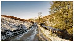Lovely Langstrothdale (Digital Wanderings) Tags: road winter snow yorkshiredales riverwharfe buckden yockenthwaite langstrothdale