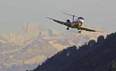 Airport Berne BRN LSZB (Roland C.) Tags: airplane airport aircraft bern embraer bmi brn emb145 lszb bernbelp airlaner