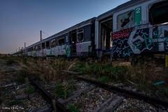 Urbex - Train En Rade 01 (Tsx13) Tags: urban france train voiture exploration sncf renfe urbex urbaine abandonné corail sncb