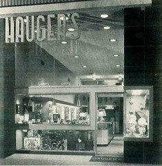 Haugers Jewelry, Cumberland, MD, Architect S. Russ Minter (JAVA1888) Tags: old building window sign architecture vintage design photo store md doors exterior display front case historic retro 1940s 1950s storefront signage 50s cumberland 40s midcenturymodern haugersjewelry
