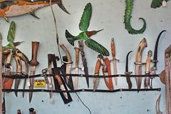 Blade Runner (skipmoore) Tags: lagunabeach sawdustartfestival handcrafted knives