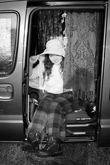 Van Girl (George French Photography) Tags: van girl summergirl lakedistrict quirky