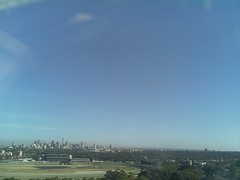 Sydney 2016 Oct 21 07:48 (ccrc_weather) Tags: ccrcweather weatherstation aws unsw kensington sydney australia automatic outdoor sky 2016 oct earlymorning