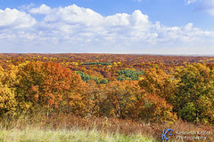 Autumn Vista (Kenneth Keifer) Tags: america blue browncounty clouds colors foliage green horizon indiana landscape leaves november october orange red september sky usa unitedstates yellow autumn autumnal brown colorful countryside deciduous fall gold golden hills midwest nature overlook rolling rural scenery scenic trees vibrant vista vivid