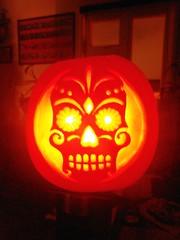 Halloween Pumpkin (The Lilac Bonzai) Tags: pumpkin halloween carving face mexican brighton sussex autumn fun
