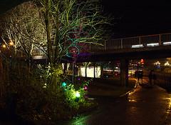 Three bridges (Silva_D) Tags: ljus lights 2012 night natt lngslutartid denisefong threebridges longexposure lightsinalingss ljusialingss lightsinalingss2012 alingss vstragtaland vstergtland sweden