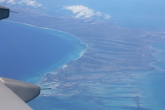 Somewhere Over the Caribbean (elyssa cupidore) Tags: plane flight kin yyz caribbean