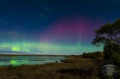 Aurora In the Moonlight (Dark Arts Astrophotography) Tags: astrophotography astronomy space stars sky night nightscape aurora auroraborealis northernlights kingston ontario kingstonist