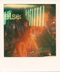 Else Peepshow (Ray Liu (Photographer)) Tags: doubleexposure polaroidinstantinstantphotographyimpossiblepeojectfilmlondon multipleexposure i1 neon lights