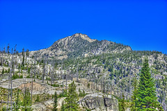 Along The Lick Creek (jimgspokane) Tags: idahostate mccall thelickcreekroad mountains forests trees camping