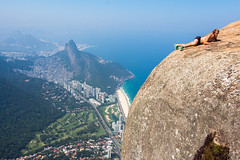 IMG_5029 (sergeysemendyaev) Tags: 2016 rio riodejaneiro brazil pedradagavea    hiking adventure best    travel nature   landscape scenery rock mountain    high forest  ocean   blue