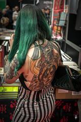 18 (@FTW FoToWillem) Tags: ibtc ibtc2016 internationalbrusselstattooconvention tattoo tat tatoe tattoogirl tattooed tattooconventie tattoobeurs tattooconvention tattooartist brussel brussels belgie belgium ink inkt ftw fotowillem willemvernooy nikon d7100 ambiance sfeer photo people artist